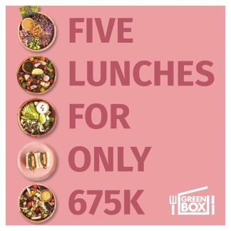 5 lunches